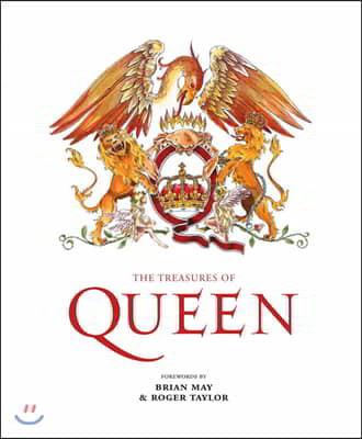 Treasures of Queen : 밴드 '퀸' 전기 (브라이언 메이, 로저 테일러 서문 수록)