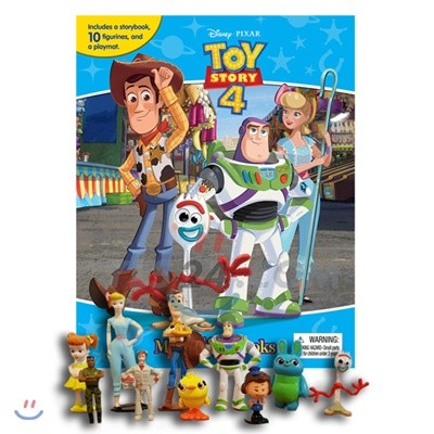 Disney Pixar Toy Story 4 My Busy Book