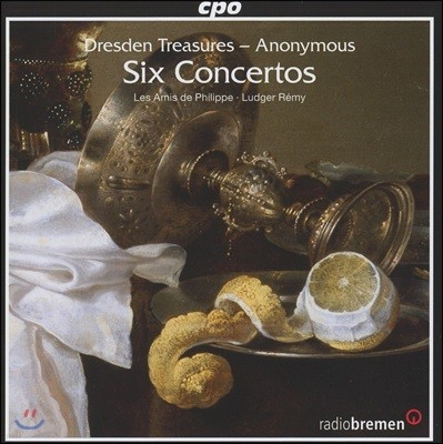 Ludger Remy 드레드센의 보물 - 여섯 개의 협주곡 (Dresden Treasures - Six Concertos)