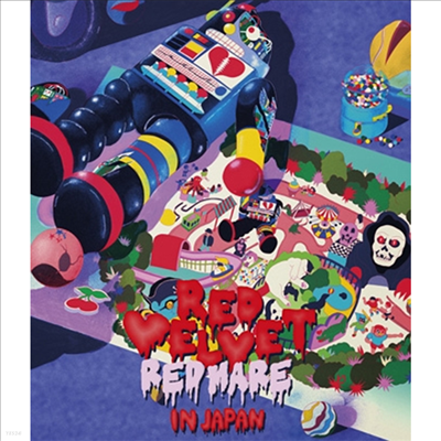 "레드벨벳 (Red Velvet) - 2nd Concert ""Redmare"" In Japan (Blu-ray)(Blu-ray)(2019)"