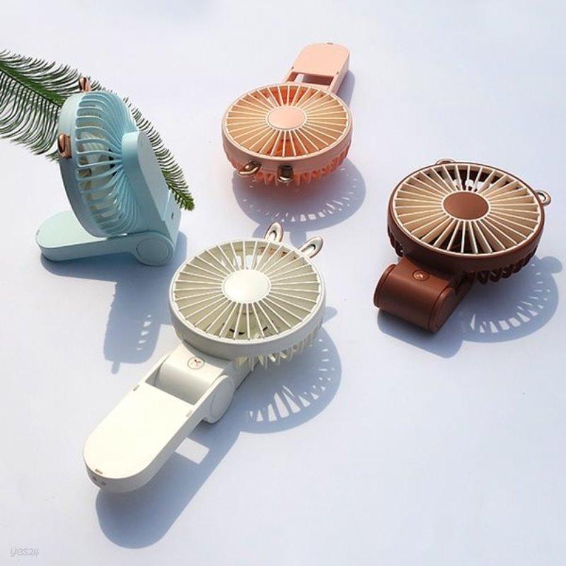 무디 폴더블 휴대용 미니 선풍기 목걸이선풍기 핸디선풍기
