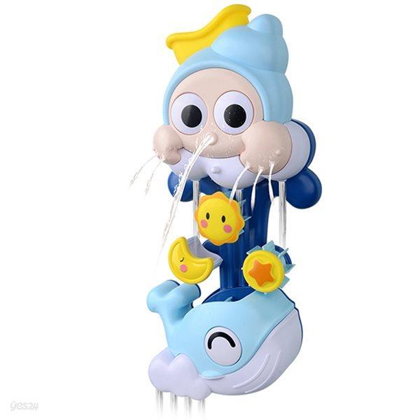 레츠토이 빙글빙글 소라 고래 파이프 아기 목욕놀이 유아 물놀이 장난감