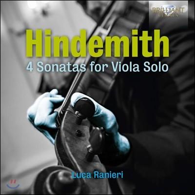 Luca Ranieri 힌데미트: 4개의 비올라 독주 소나타 (Hindemith: 4 Sonatas for Viola Solo)