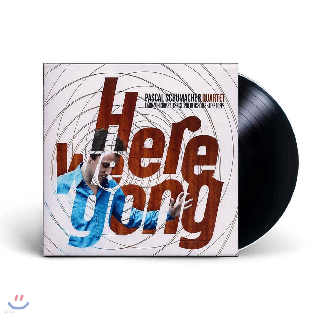Pascal Schumacher Quartet (파스칼 슈마허 쿼텟) - Here We Gong [LP]