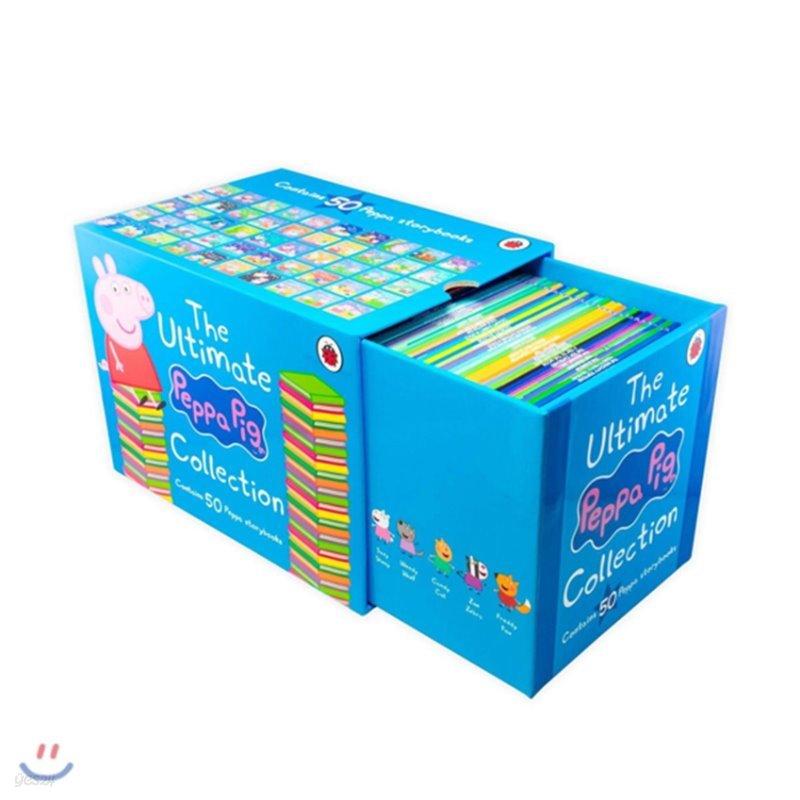 페파피그 원서 그림책 페이퍼백 50종 박스 세트 (블루) The Ultimate Peppa Pig Collection : 50 Book Box Set