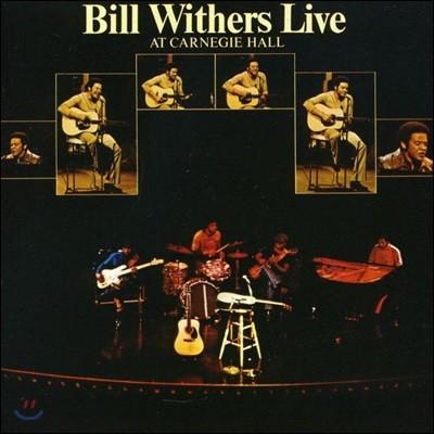 Bill Withers - Live At Carnegie Hall 빌 위더스 1973년 카네기홀 라이브 [2LP]