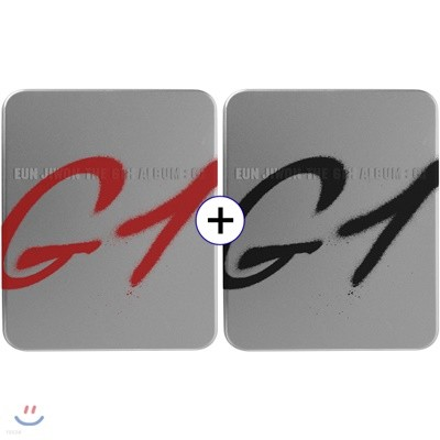 EUN JIWON THE 6TH ALBUM : G1 [RED + BLACK SET]