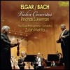 Pinchas Zukerman / Zubin Mehta 엘가 / 바흐: 바이올린 협주곡 1번 (Elgar: Violin Concerto Op.61 / Bach: Violin Concerto BWV1041) 핀커스 주커만, 주빈 메타