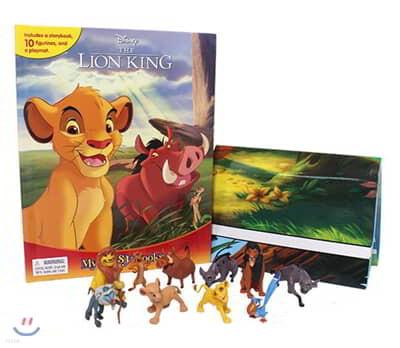 Disney Lion King My Busy Book 디즈니 라이온 킹 비지북 (피규어 책)