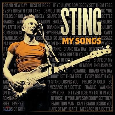 Sting - My Songs 스팅 정규 14집 [2LP]