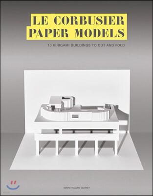 Le Corbusier Paper Models 르코르뷔지에 건축물 종이로 만들기