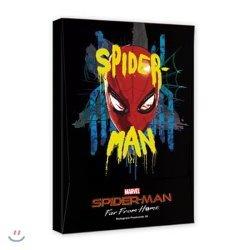마블 스파이더맨 파 프롬 홈 홀로그램 엽서북