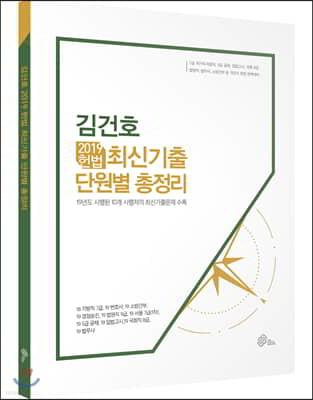 2019 김건호 헌법 최신기출 단원별 총정리