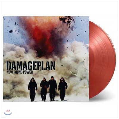 Damageplan (데미지플랜) - New Found Power [골드 & 솔리드 레드 컬러 LP]