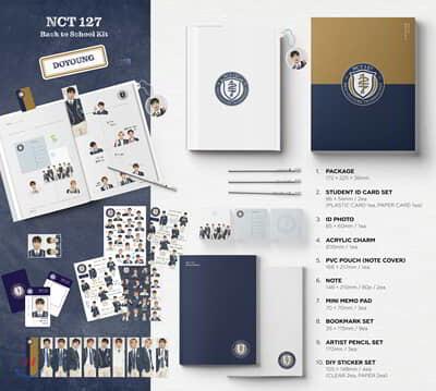엔시티 127 (NCT 127) - 2019 NCT 127 Back to School Kit [도영]