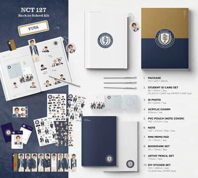 엔시티 127 (NCT 127) - 2019 NCT 127 Back to School Kit [유타]