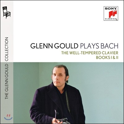 Glenn Gould 바흐: 평균율 클라비어 곡집 1-2권 (Plays Bach: The Well-Tempered Clavier Books I & II BWV846-893) 글렌 굴드