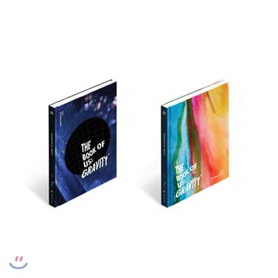 데이식스 (DAY6) - 미니앨범 5집 : The Book of Us : Gravity [소울 또는 메이트 버전 중 1종 랜덤발송]