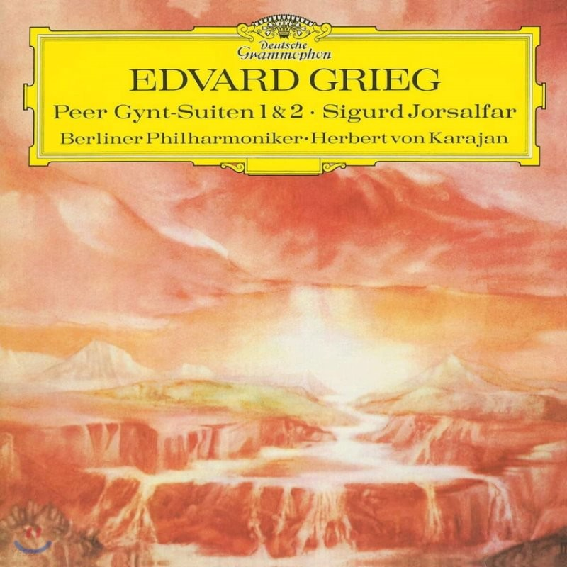 Herbert von Karajan 그리그: 페르귄트 모음곡 (Grieg: Peer Gynt Suite No. 1 & 2, Sigurd Jorsalfar) [LP]