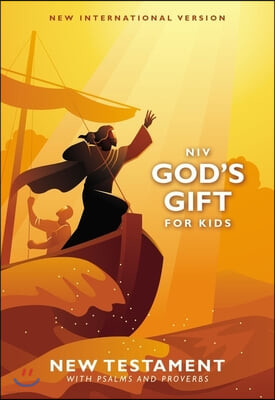Niv, God's Gift for Kids New Testament with Psalms and Proverbs, Pocket-Sized, Paperback, Comfort Print