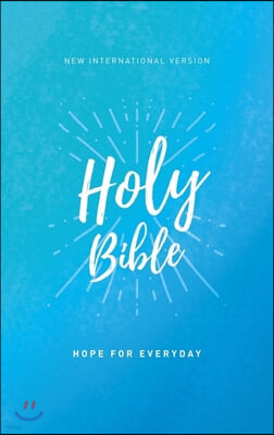 Niv, Holy Bible, Economy Edition, Paperback, Comfort Print: Hope for Everyday