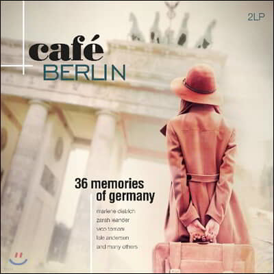 20세기 독일 히트곡 모음집 (Cafe Berlin: 36 Memories Of Germany) [2LP]
