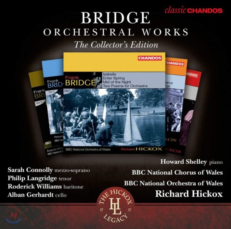 Richard Hickox 프랭크 브리지: 관현악 작품집 (Frank Bridge: Orchestral Works, Vol. 1-6)