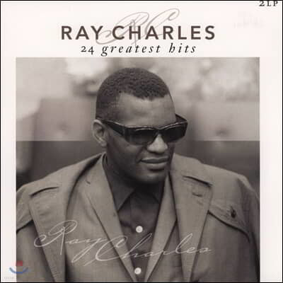 Ray Charles (레이 찰스) - 24 Greatest Hits [2LP]