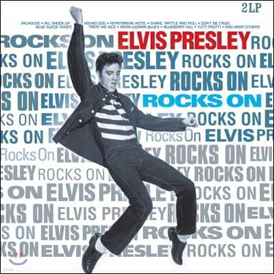 Elvis Presley (엘비스 프레슬리) - Rocks on [2LP]