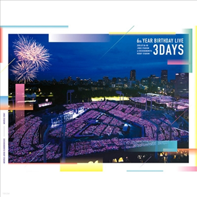 Nogizaka46 (노기자카46) - 6th Year Birthday Live (5Blu-ray) (완전생산한정반)(Blu-ray)(2019)