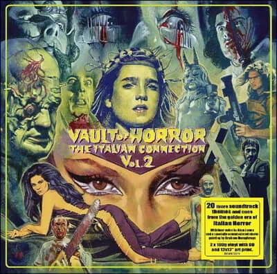 이탈리안 호러 시네마 영화음악 모음집 (Vault Of Horror: The Italian Collection Vol.2) (Deluxe Edition) [2LP+CD]