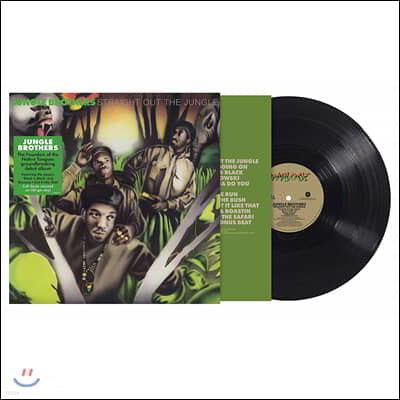 Jungle Brothers (정글 브라더스) - Straight Out The Jungle [LP]
