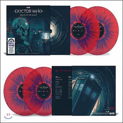 닥터 후 달렉의 운명 드라마음악 (Doctor Who - Destiny of the Daleks OST by Terry Nation) [레드 스플래터 컬러 2LP]