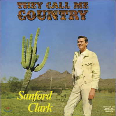 Sanford Clark (샌포드 클락) - They Call Me Country [LP]