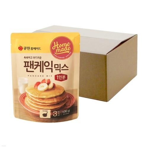 (박스특가/20개입) 큐원 팬케익믹스 한박스 (프라이팬용)