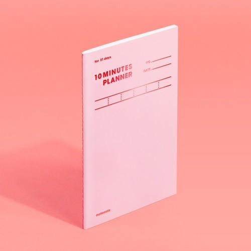 [모트모트] 텐미닛 플래너 31DAYS 컬러칩 - 로즈...
