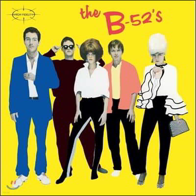 The B-52's (더 비 피프티투스) - 1집 The B-52's [LP]
