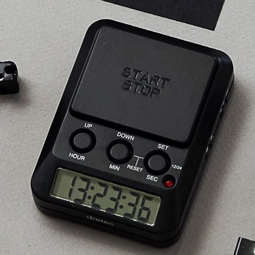 드레텍 D-day 스탑워치 스톱워치 블랙 T-580