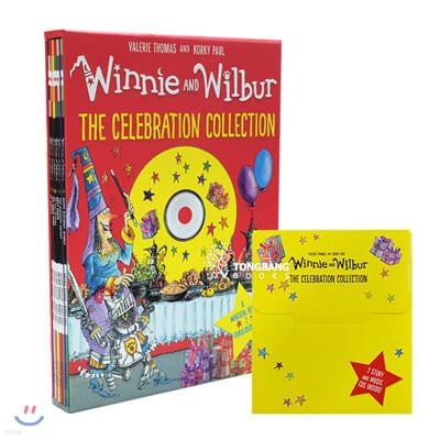 마녀 위니 셀레브레이션 컬렉션 6종 세트 (CD 2장 포함) : Winnie and Wilbur: the Celebration Collection