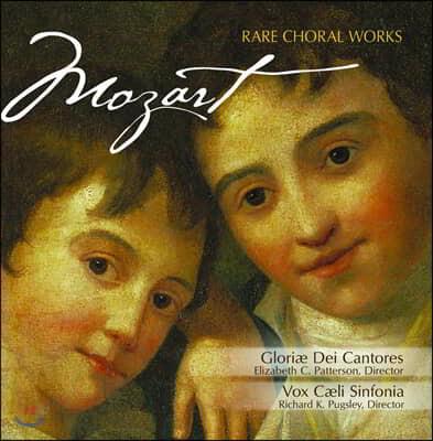 Gloriae Dei Cantores 모차르트: 희귀한 합창 작품집 (Mozart: Rare Choral Works)