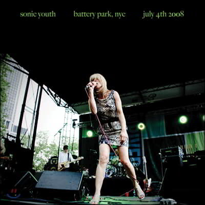 Sonic Youth - Battery Park, NYC: July 4th 2008 소닉 유스 라이브 앨범 [LP]