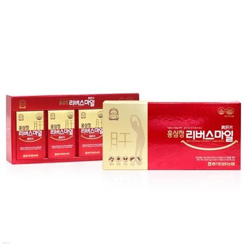 풍기인삼 홍삼정 리버스마일 (6정 x 5개입) 4박스