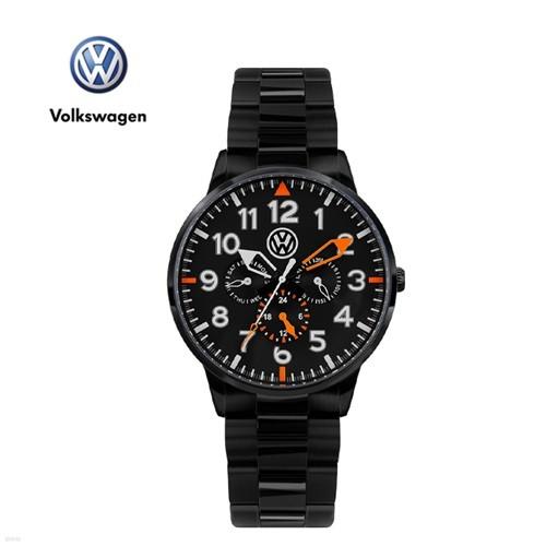 폭스바겐 멀티펑션 메탈시계 VW-Allspace-BB