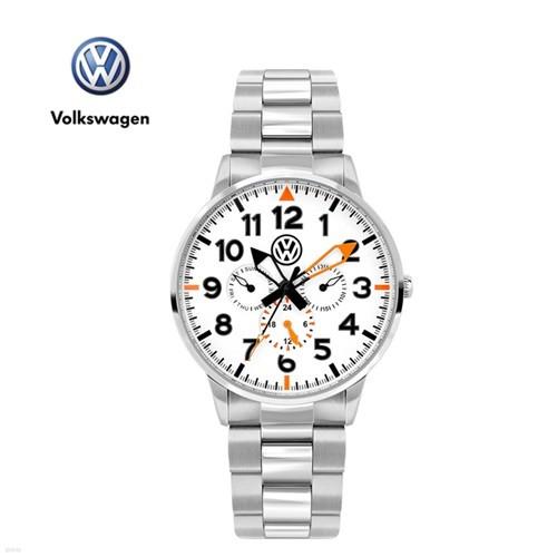 폭스바겐 멀티펑션 메탈시계 VW-Allspace-WS