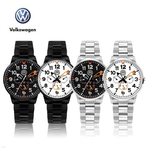 폭스바겐 멀티펑션 메탈시계 VW-Allspace 4종 택1