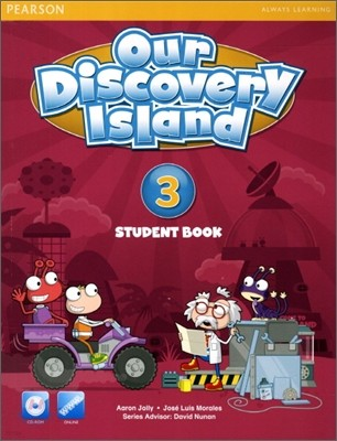 Our Discovery Island 3 : Student Book