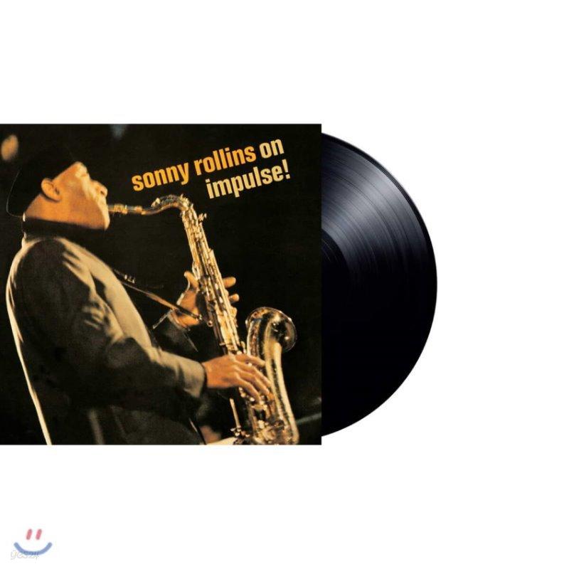 Sonny Rollins (소니 롤린스) - Sonny Rollins On Impulse! [LP]