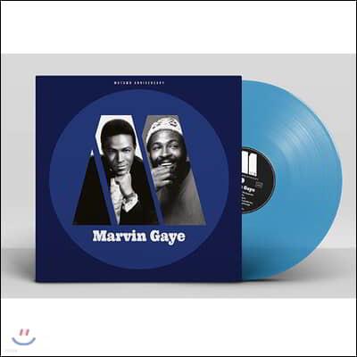 Marvin Gaye - Motown Anniversary 마빈 게이 베스트 앨범 [블루 컬러 LP]