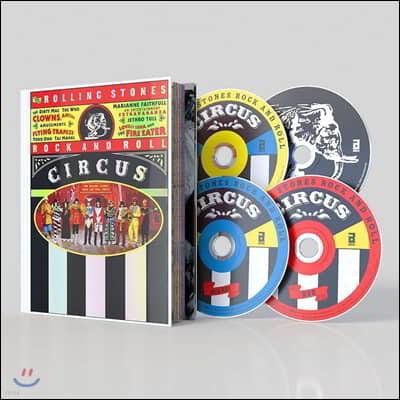 Rolling Stones - Rock And Roll Circus 롤링 스톤스 1968년 라이브 앨범 [디럭스 한정반]