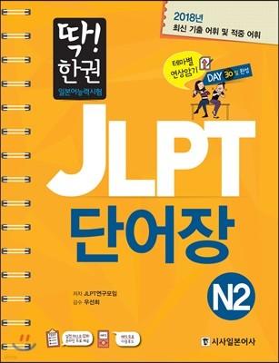딱! 한권 JLPT 일본어능력시험 단어장 N2